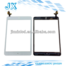 full new grade AAA touch screen replacement glass for apple ipad mini white