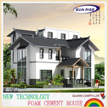 2014 new type foam cement prefab homes for sale
