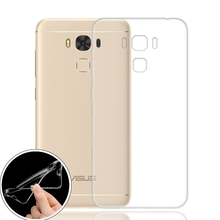Soft TPU Silicon Transparent Clear Case For Asus Zenfone 3 Max ZC553KL