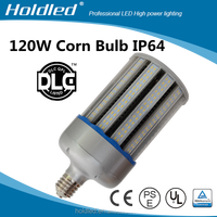 DLC CE LED corn lamp 120W LED street corn light E40 replace mental halide