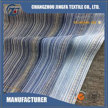 New design polyester stripe denim fabric