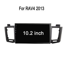 8 inch HD 1080P BT TV GPS IPOD Fit for TOYOTA RAV4 2013 multimedia car dvd player dvd + gps