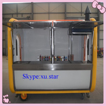 stainless steel food service cart with wheels
