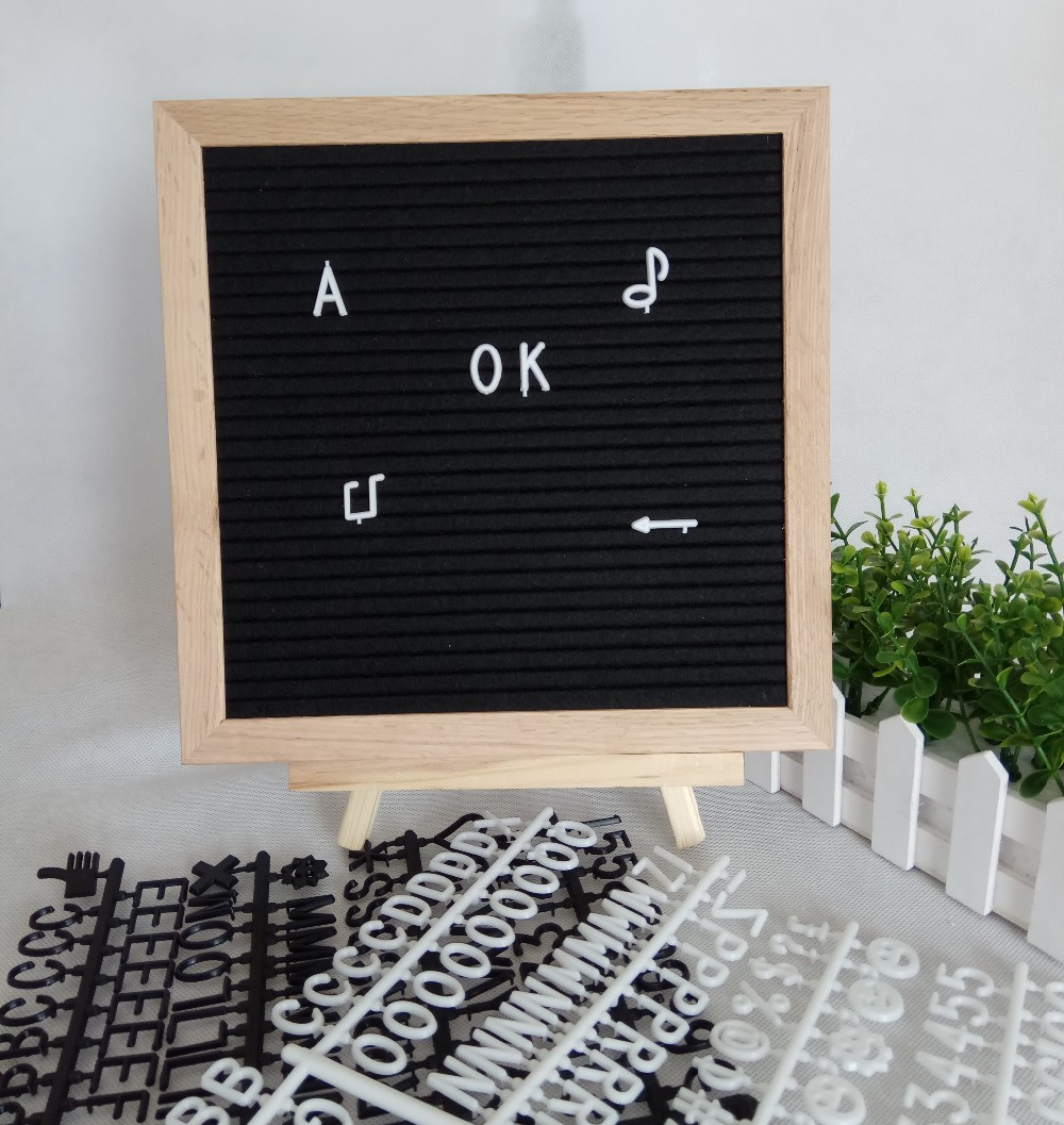 Oak Wood Type and Home Decoration Use double side letter board