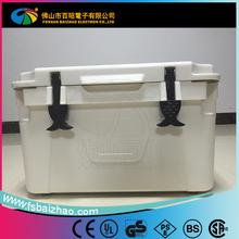 PE plastic roto molded Plastic Picnic ice cooler box Rotational molding Cooler Box