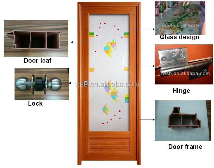 2015 guangzhou pvc door panel