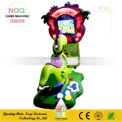 NQK-V07 hot selling chrildren game kiddie rides coin operated 3D crazy horse in video game for amusement park
