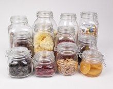 lead-free food storage jar with sealed lid