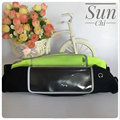 sp 003 2017 unisex gender sport elastic waist bag outdoor reflective belt waist pack waterproof fanny pack with two pocket