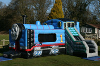 Cheap bouncy castle/thomas the train inflatable bounce house/jumping castle