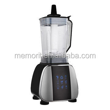 Commercial blender with heating function, 2L PC jar, 1800W copper motor