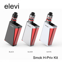 Smok H-Priv Kit 220w With Micro TFV4 Tank Magnetic Battery Cover