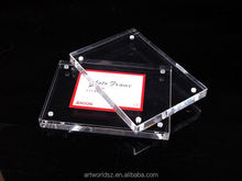 manufacture frameless acrylic magnetic photo block