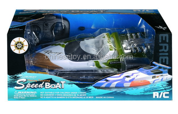 High Speed Coast Guard Boat Dynamic R/C Fire Boat RC Water Police Boat