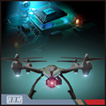 4CH 6-Axes Gyro rc quadcopter with HD camera wifi drone