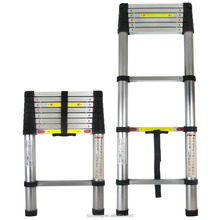 new design EN131-6 aluminium telescopic ladder/werner ladder/ladder parts