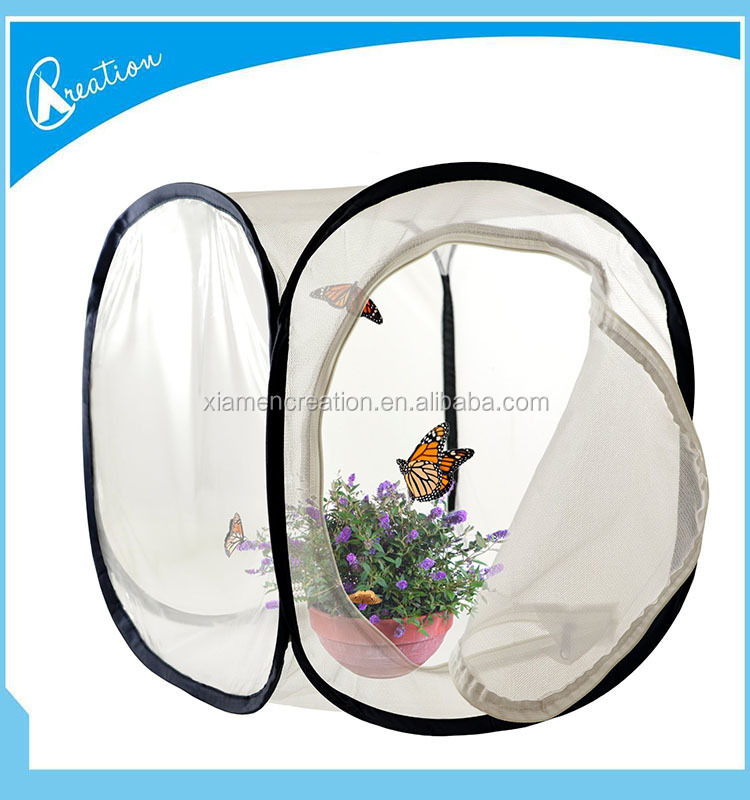 Square Pop-up Butterfly Cage/Insect Cage/Insect Rearing Cage