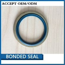 metal rubber bonded seal bonded washer