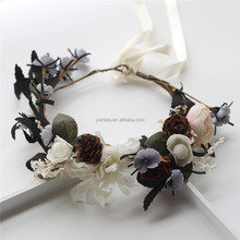 Decorative Berry Wedding Silk Petal Garland For Indian Wedding