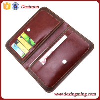 PU Leather Protective Folio Wallet phone Case with Credit Card Holder/Slots