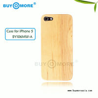 Hot sale 100% natural bamboo pad stand, wood bamboo phone case for iphone 5
