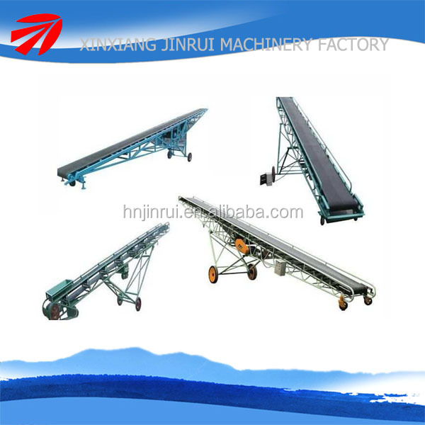 China new belt conveyor for corn manufacture with carbon steel