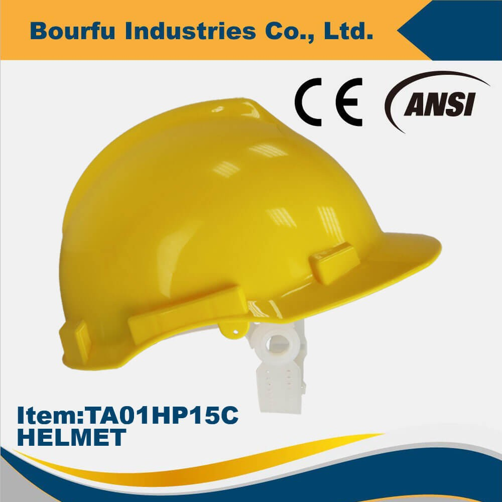 Multi Color Approved ANSI Z89.1 Used Helmet With Earmuffs