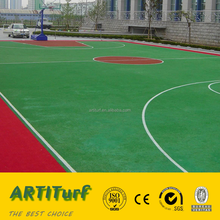 Manufacturer cheapest high quality 10-20mm sports court plastic fiber synthetic artificial grass lawn for basketball