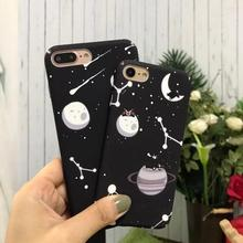 Water Transfer Print Sky plain Planet Cell Phone Case for iPhone 7, for iPhone 7 Plus Case PC Hard natural landscape case