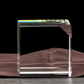 new clear crystal glass cube,new designed crystal cube