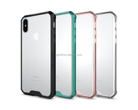 bulk buy from china 12 years experience factory Ultra thin strong armor body acrylic clear mobiles phone case for iphone 8 case