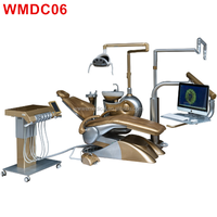 WMDC06 dental unit with rotable side box & super low position/ dental unit factory