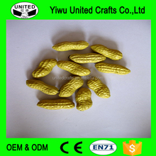 China supplier foam decorative artificial fruits and vegetables fake peanut