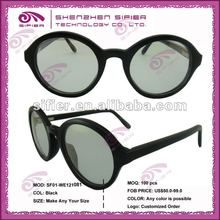 2014 Fashion Design Round Ox Horn Eyeglasses With Oem Logo