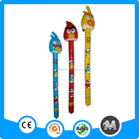 Wholesale new arrival cartoon animal head PVC inflatable stick