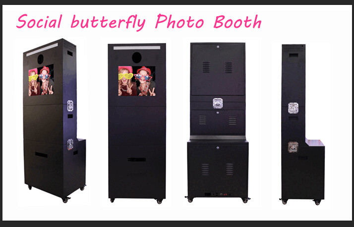 19 Inch Touch Screen Portable Advertising Photo Booth