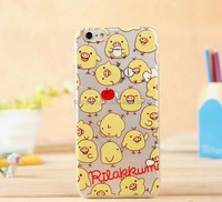 Bear Silicone Case For Apple Iphone 4 4s 5 5g 5c 5s 6 6plus etc mobile phone cover