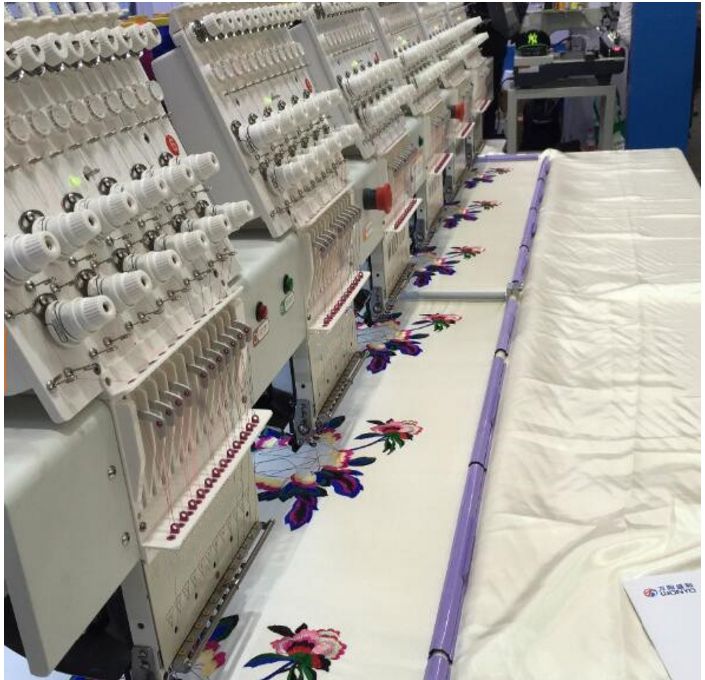 "New Computerized Cap and T-shirt Embroidery Machine Dahao 10"" Touch Screen Control System"