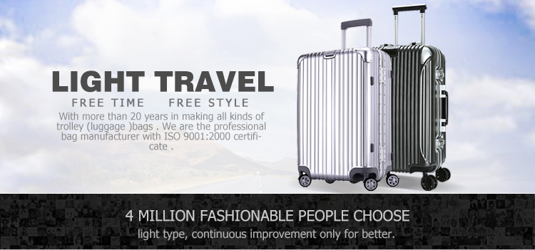 High Quality Trolley Case, travel luggage, EVA travel bags with spinner casters