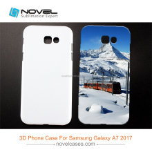 Printing Sublimation 3D Blank Phone Cover for Samsung Galaxy A7 2017