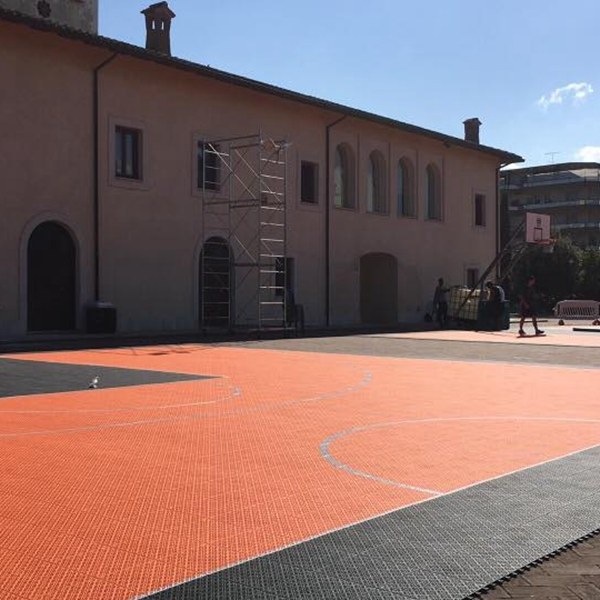 manufactuere plastic outdoor flooring basketball court surfaces