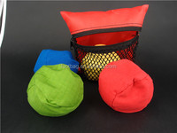 new style boccia ball/Cross boule foam bean bag sport ball set BOCCIA promotion gift