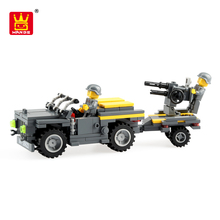 wange wholesale cheap block military toys about rearm truck