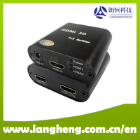 1 in to 2 out HD HDMI Splitter 4Kx2K