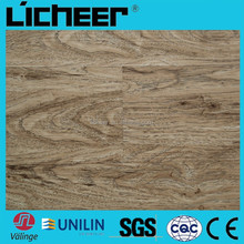 INDOOR WPC FLOORING /click lock vinyl plank flooring handscraped surface