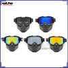 BJ-MG-024 Dirt bike Flexible Goggles Nose goggle Face Protector glasses