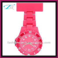 TSR 2013 plastic pocket fashion nurse watch factory price maket to US Paypal Escrow T/T Western Union