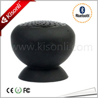 Hottest Gadget Cute Portable Wireless Mini Mushroom Silicone Bluetooth Phone Speaker