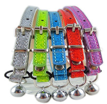 safty elastic strap cat collar with bell