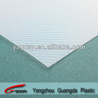 clear white stripe PP binding cover for stationary china manufacturer